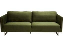 Phoenix Fabric 3 Seater Sofa - Forrest Green