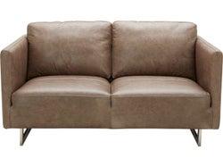 Phoenix Leather 2 Seater Sofa - Grey