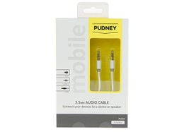 Pudney 3.5mm Stereo Plug to 3.5mm Stereo Plug 2M Cable P1222
