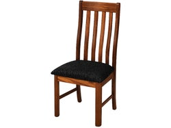 Rutherford Dining Chair - Matte - Fabric Direction Onyx