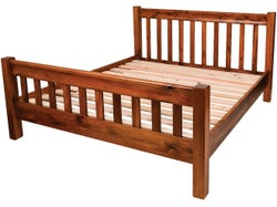 Rutherford Promo Queen Slat Bed - Matte