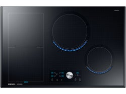 """Samsung 80cm """"Chef Collection"""" Induction Cooktop With Virtual Flame - NZ84J9770EK"""