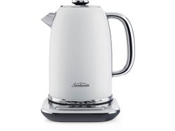 Sunbeam Alinea™ Collection 1.7L Kettle with Rapid Heating Base - White