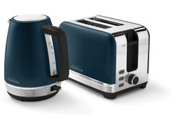Sunbeam Chic Collection Kettle and Toaster Pack Up Set - Blue