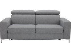 Trieste Fabric Sofa Bed - Charcoal