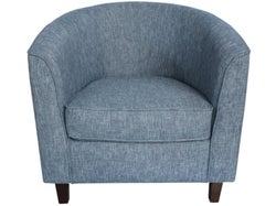 Tub Chair Fabric - Aqua