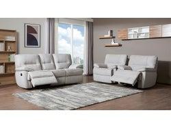 Tucson Fabric 5 Seater Lounge Suite - Moonshine