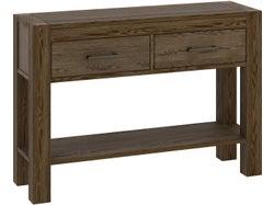 Turin Console Table - Dark Oak