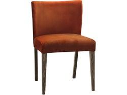 Turin Dining Chair - Dark Oak - Pumpkin