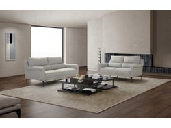 Turin Fabric 5 Seater Lounge Suite - Grey