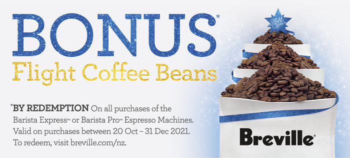 Bonus Flight Coffee Beans via Redemption*
