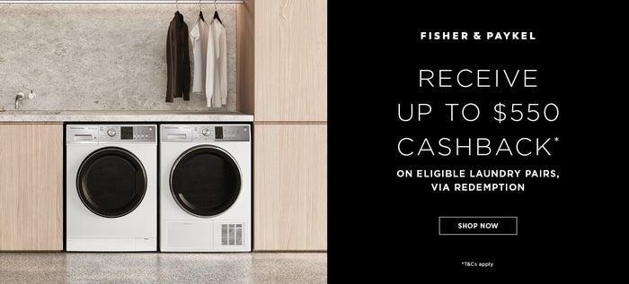 Fisher & Paykel Laundry Cashback